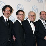 Joel and Ethan Coen, Walter Mirisch and Scott Rudin