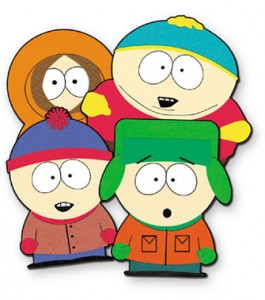 South Park has the most fans crowded Facebook page