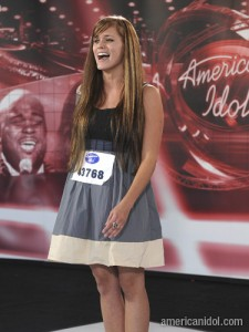 American Idol Season 8 So far front runners: Megan Corkrey