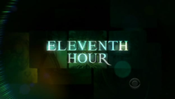 Cancelled Shows 2009: Eleventh Hour gets cancelled!