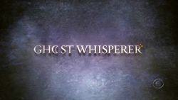 Cancelled Shows 2009: Ghost Whisperer gets renewed for a new season!