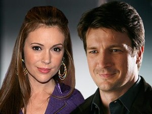 Casting News: Alyssa Milano joins Castle to play love interest of Nathan Fillion