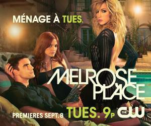 melrose place cancelled cw