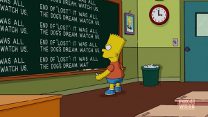 Lost Series Finale: The Simpsons teases on Lost in the opening credits – Video