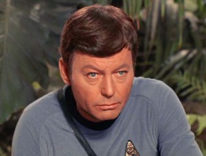 leonard mccoy top ten tv doctors star trek daforrest kelley