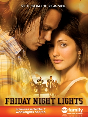 Friday Night Lights on ABC Family airing reruns weeknights