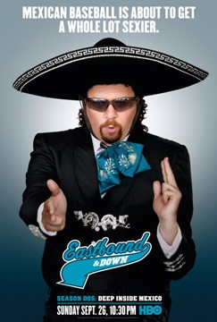 teaser poster of eastbound & down second season kenny powers photo