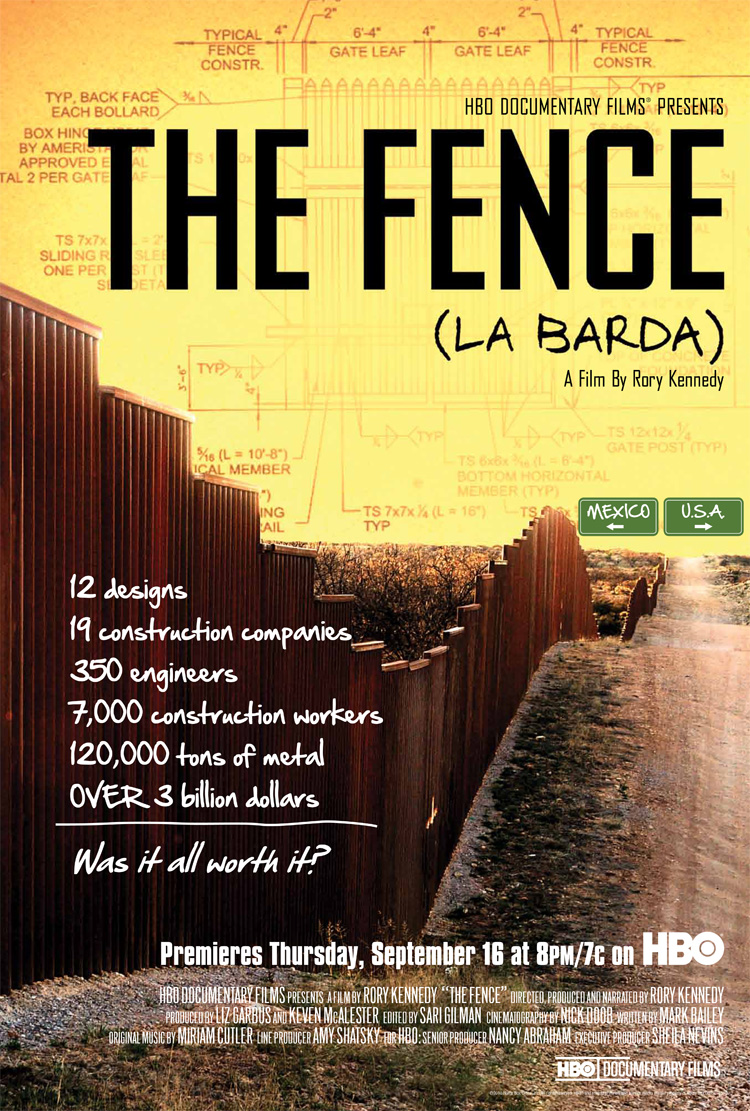 HBO Documentary: The Fence – La Barda debuts September 16th