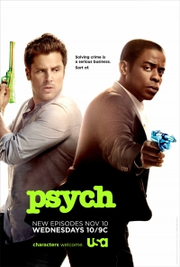 Psych Contest Giveaway at Series and TV!
