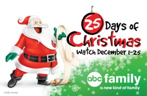 ABC Family 25 Days of Christmas – Schedule and Programming Days 1 to 5