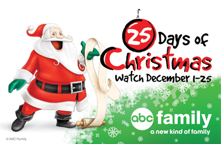 Abc Family 25 Days Of Christmas.Abc Family 25 Days To Christmas Schedule And Programming