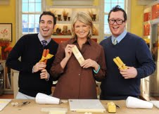 Martha Stewart Show with Curtis Granderson, Jim Cantiello and Brendan Kennedy