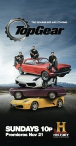 Top Gear US premieres on History Channel November 21st