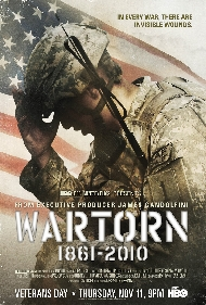 Wartorn 1861 – 2010, HBO Documentary premiering November 11th at 9pm at HBO