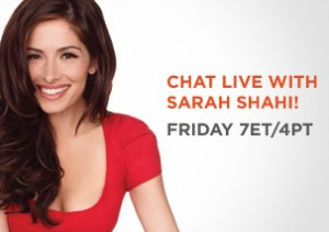 Fan Video Chat with Fairly Legal Star Sarah Shahi – Jan 28th