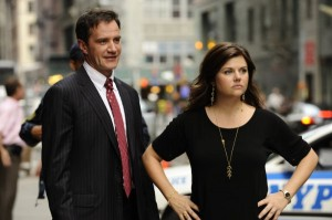 White Collar Tiffany Thiessen Inteview about the show