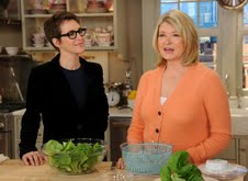 Martha Stewart Show with Rachel Maddow recap and quotes