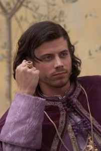 Borgias Casting: François Arnaud is Cesare Borgia & David Oakes is Juan Borgia