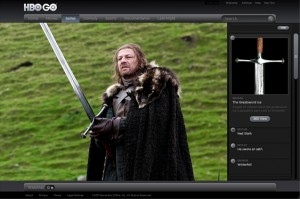 Game of Thrones Interactive Viewing Experience on HBO Go
