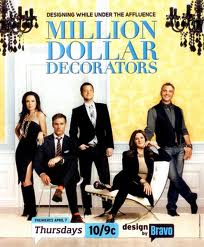 Million Dollar Decorators series premieres Tuesday July 12 10 PM on Bravo