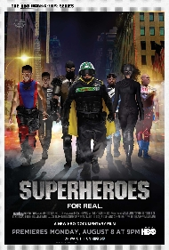 HBO Documentaries: Superheroes premieres August 8 9PM