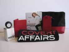 Covert Affairs Season Finale Contest and Giveaway – Win a Jet Setter Pack
