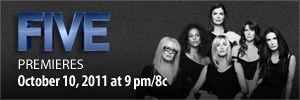 Breast Cancer Awareness Film FIVE premieres Monday, October 10th at 9/8c on Lifetime