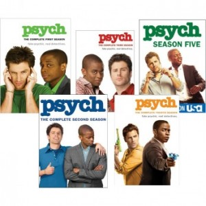 Psych Midseason Finale Contest and Giveaway – Win Season 1 to 5 DVD set and a Psych Snuggie