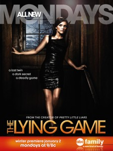 The Lying Game season 2 premieres Monday January 2 9-8C on ABC Family