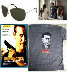 Burn Notice Winter Finale – Fail Safe Contest and Giveaway