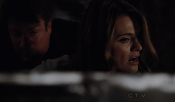 The episode found Castle and Beckett in bed handcuffed together, ...