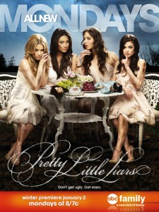 Enter A is Everywhere Contest to win a trip to Pretty Little Liars set