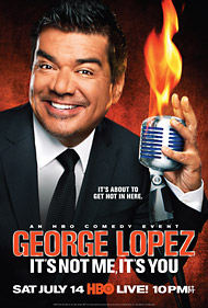 George Lopez Comedy Special on HBO July 14 at 10PM