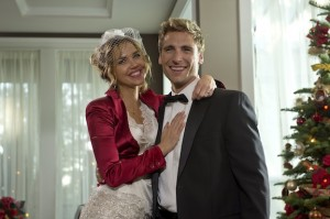 A Bride for Christmas premieres December 1 8/7 C on Hallmark Channel