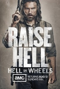 Cancelled or Renewed? AMC renews Hell on Wheels for season three