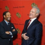 Bryant Gumbel and Scott Pelley Enjoy a Laugh at the 72nd Annual Peabody Awards on Monday, May 20th at the Waldorf Astoria