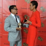 DL Hughley and Robin Roberts Bond Over their Awards at the 72nd Annual Peabody Awards on Monday, May 20th at the Waldorf Astoria