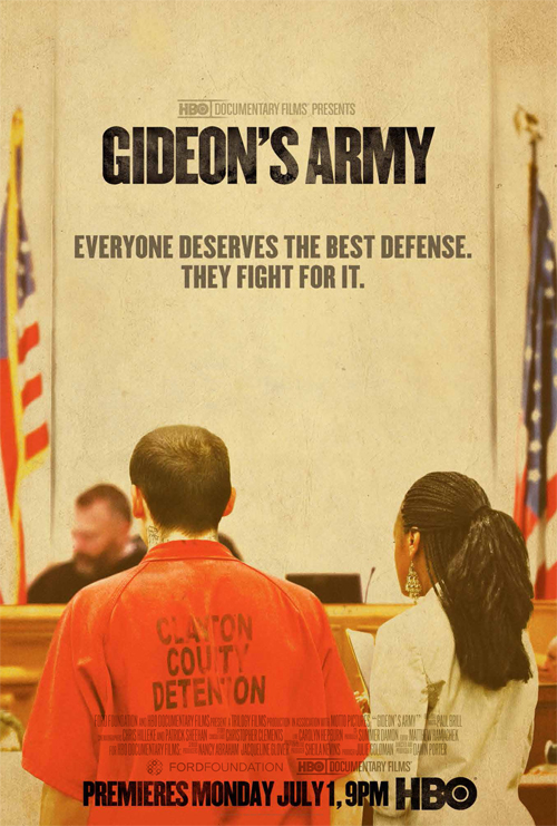 Gideon´s Army Fight agains injustice on HBO Documentaries