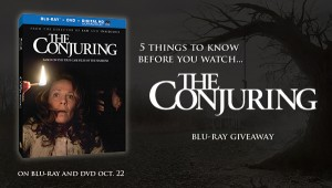 "Win a ""The Conjuring"" Blu-Ray in this giveaway"