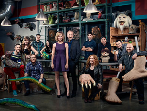 Who will be competing in Syfy´s Jim Henson´s Creature Shop Challenge premiering March 25