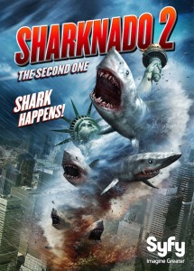 #Sharknado 2: The Second One adds a new poster – premieres July 30