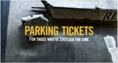 Parking tickets for those who've crossed the line book review