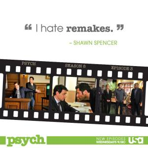 Best Quotes and Pop References from Psych Final Season S08E03 Remake A.K.A. Cloudy… With a Chance of Improvement