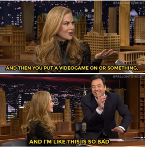 Jimmy Fallon blew the chance to date Nicole Kidman –  Hilarious clip