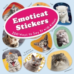 Emoticat Stickers Book Review
