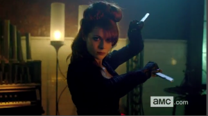 The Widow Fight Scene from Into The Badlands Video on AMC