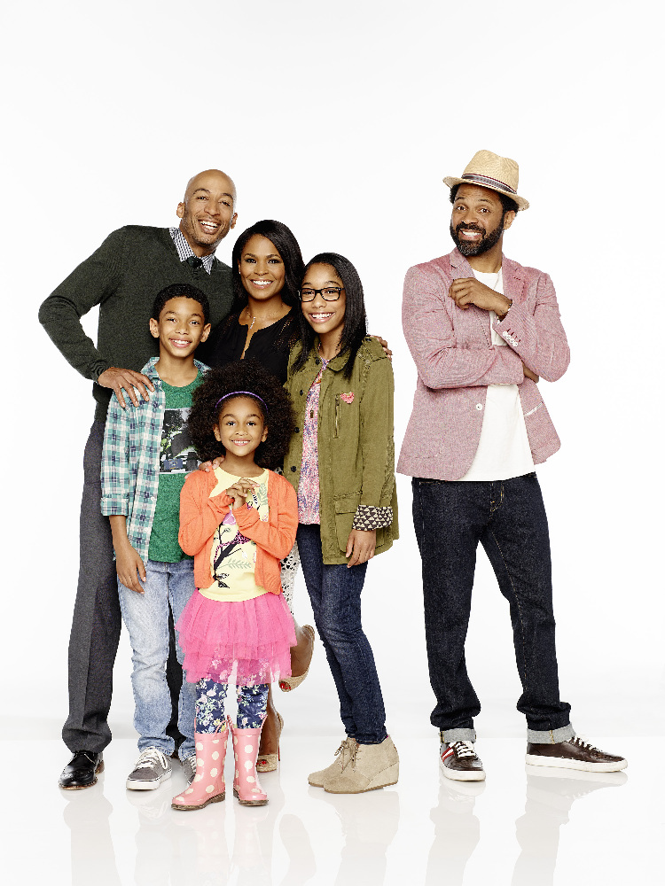 Uncle Buck Pilot Review JAMES LESURE, SAYID SHAHIDI, AALYRAH CALDWELL, NIA LONG, IMAN BENSON, MIKE EPPS