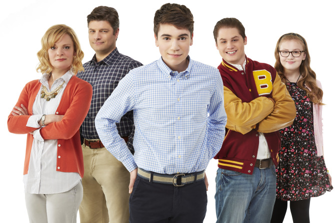 THE REAL O'NEALS - Pilot Gallery (ABC/Kevin Foley) MARTHA PLIMPTON, JAY R. FERGUSON, NOAH GALVIN, MATT SHIVELY, BEBE WOOD