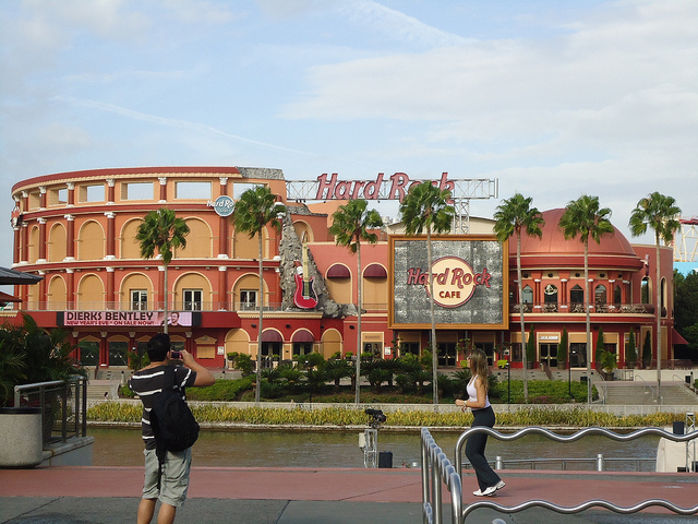 universal citywalk review hard rock cafe
