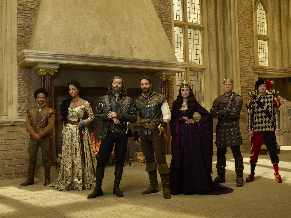 Galavant season two premiere review: LUKE YOUNGBLOOD, KAREN DAVID, TIMOTHY OMUNDSON, JOSHUA SASSE, MALLORY JANSEN, VINNIE JONES, BEN PRESLEY